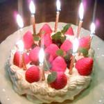 Happy Birthday !! そして、Anniversaryに。